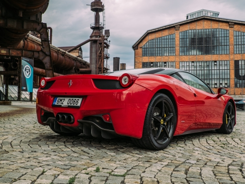 Jízda ve Ferrari Ostrava