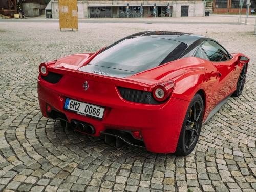 Jízda ve Ferrari 458 Italia Brno